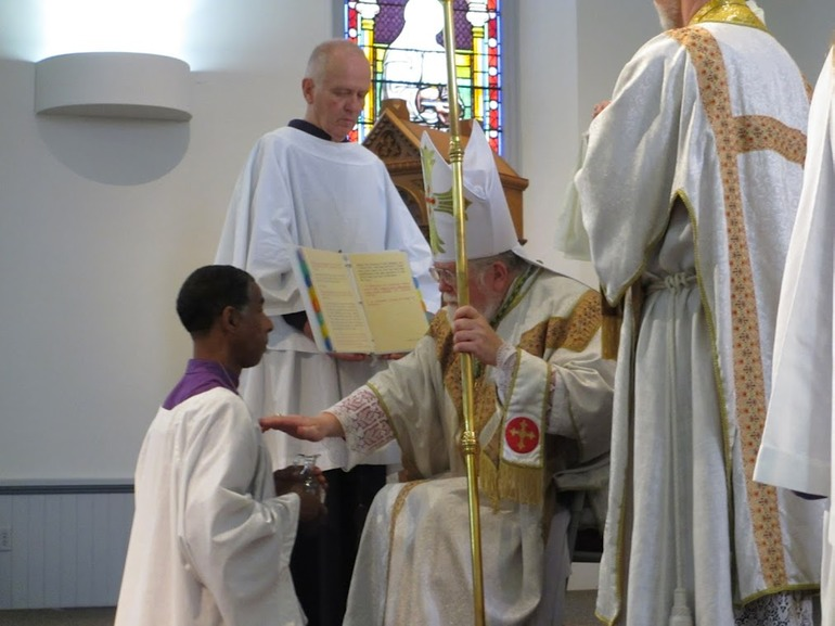 blessing to acolyte ordination